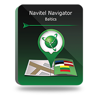 Navitel Navigator. Lithuania, Latvia, Estonia
