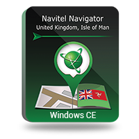 Navitel Navigator. United Kingdom, Isle of Man